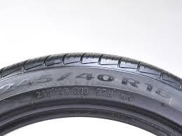 lexus run flat tires sc430 used pirelli cinturato p7 all season run flat 245 40r18 97h 1