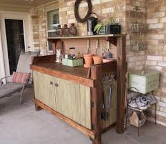 Bench Made From Old Dresser 58 Awesome Potting Benches For Every Gardener Shelterness