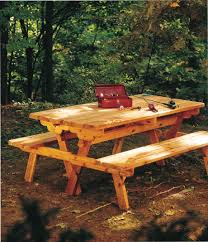 Plans To Build A Picnic Table And Benches by Free Picnic Table Plans Free Step By Step Shed Plans