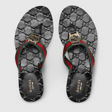 gg thong web sandal gucci women u0027s slides u0026 thongs 270374h90208476