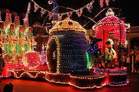 electric light parade disney world magic kingdom electrical light parade 2 walt disney world flickr