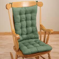 Rocking Chair With Cushions Rocker Chair Pad Set Rocker Chair Pads Walter Drake