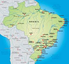 Guyana Map Map Of Brazil Depaul Magazine