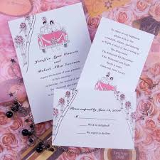 simple wedding invitations wedding invitations simple pink floral wedding invitations