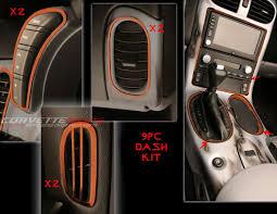 Custom Corvette Interior C6 Corvette 2005 2013 Custom Painted Interior Dash Trim Kit 9