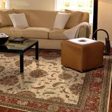 Living Room Rugs At Costco Traditional Living Room With Ivory Red Patterned Area Rug Costco