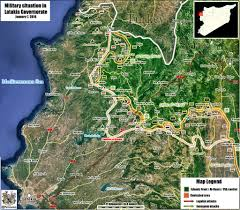 Syria Live Map by The Military Situation In Syria To The 01 07 2016 Colonel Cassad