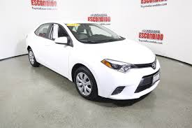 lexus certified pre owned deals certified pre owned 2016 toyota corolla le 4dr car in escondido