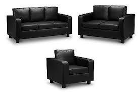 Fabric Or Leather Sofa Verona 3 2 1 Fabric Or Leather Sofa In Black Brown Grey Beige