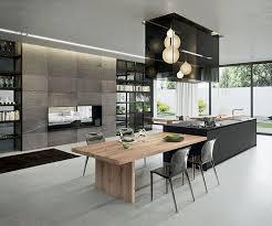 Modern Kitchen And Dining Room Design Best 25 Island Bench Ideas On Pinterest Contemporary Kitchen
