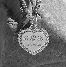 custom engraved heart necklace cheap custom engraved heart necklace find custom engraved heart