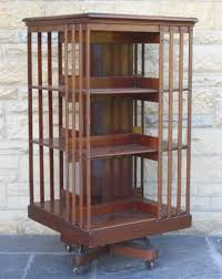 Victorian Bookshelf Decorating Breathtaking Revolving Bookcase For Charming Home