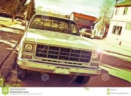 Vintage Ford Truck Colors - old pickup truck royalty free stock photography image 35501207