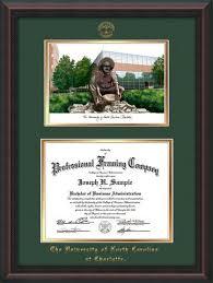 diploma framing of carolina diploma frames uncc