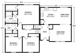 tri level floor plans zspmed of split level floor plans