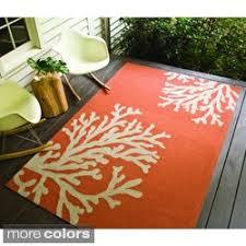 Overstock Rugs 5x8 Orange Indoor Outdoor Area Rugs Overstock Com Buy 7x9 10x14