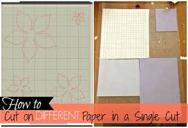 get silhouette to cut on different paper in one cut fail proof