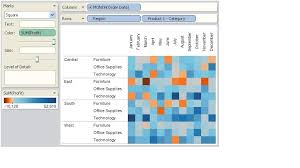 heat map in tableau heat map graphical and pictorial representation of data