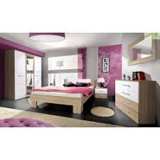 chambre a coucher en chene chambre à coucher adulte complète ii en chêne sonoma