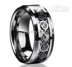 mens rings silver images Dragontungsten carbide celtic ring mens jewelry tungsten ring mens jpg