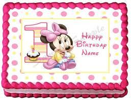 minnie mouse 1st birthday minnie mouse 1st birthday cake topper 19 best ayra birthday