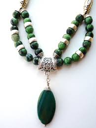 green agate necklace images Handcrafted big skies jewellery jpg