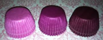 burgundy color mini cupcake liners papers wrappers grease