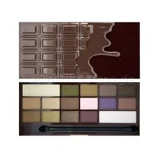 i heart makeup wonder palette i heart chocolate cosmetics