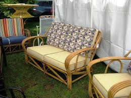 classic decoration with cube wicker sofa home and garden decor