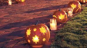 halloween cookie cutters cookie cutter pumpkins 33 halloween pumpkin carving ideas