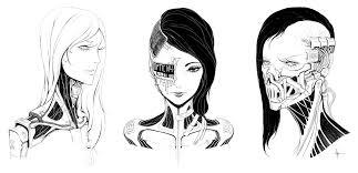 female faces 001 by adriandadich on deviantart