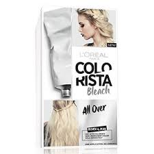 Washing Hair After Coloring At Home - colorista at home hair bleach u0026 hair lightener l u0027oréal paris