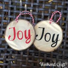 rustic diy ornaments and giveaway weekend craft
