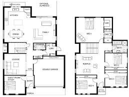 craftsman floor plans astonishing two story craftsman house plans pictures ideas house