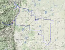 Cu Boulder Map Boulder Coloradobikemaps