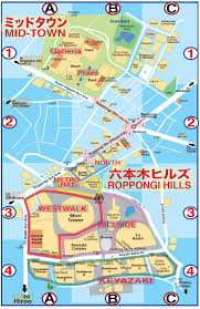 Tokyo Metro English Map by Tokyo Pocket Guide Tokyo Roppongi Hills Map In English For
