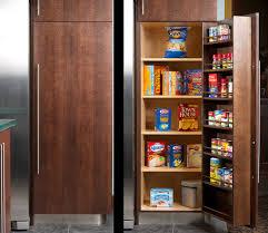 Single Door Pantry Cabinet Furnitures Single Doors Pantry Kitchen Idea With Spice Rack