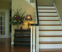 Painted Banisters Paint Your Staircase Railing Redesign Right Llc