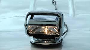 go light magnetic base magnetic golight stryker 100w halogen remote control spotlight