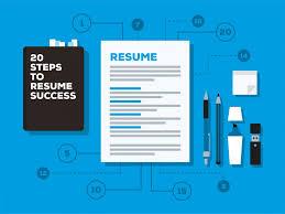 Steps To Write Resume How To Write A Job Winning Resume Www Ikono Me