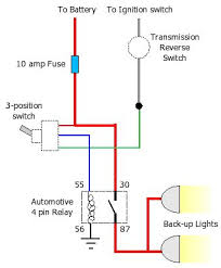 question on wiring reverse lights