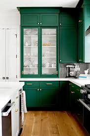 wood kitchen cabinets for 2020 5 shades of green for your kitchen cabinets emily a clark