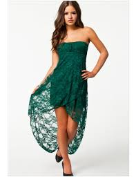 green lace strapless dress dress images