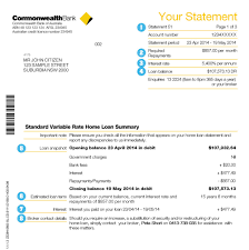 opening statement resume your guide to home loan statements commbank mortgages