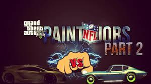 gta 5 online nfl paint jobs broncos patriots jets more gta
