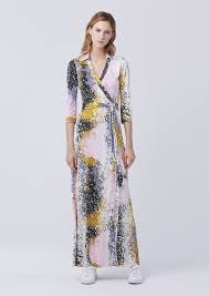 dvf wrap dress on sale today diane furstenberg abigail maxi wrap dress