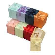 bow boxes a a jewelry supply ring gift boxes colorful floral bow tie gift