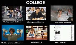 What I Really Do Meme - what my friends think i do what i actually do college what my