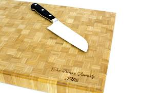 bamboo butcher block cutting board antler home
