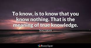 Quotes About Being Blinded By Love Socrates Quotes Brainyquote